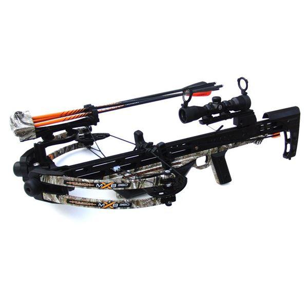 New Mission X-MXB 360 Crossbow w/ Accessories & Bohning Accessories