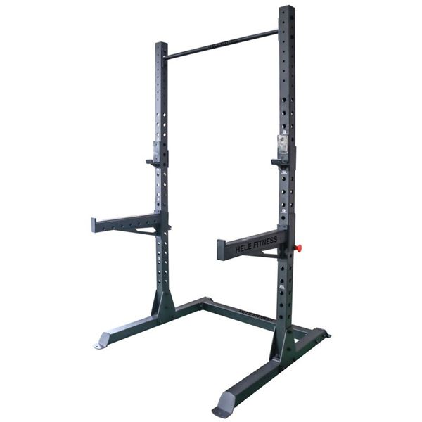 New Hele Fitness Power Squat Rack & Accessories