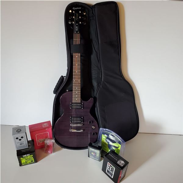 Epiphone Les Paul Special II Electric Guitar, Refurbished with the Works