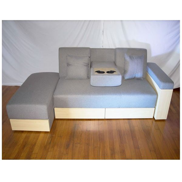 Sofa Futon with Armrest, New in box!