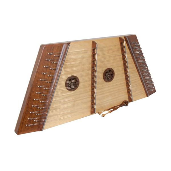 New Dulcimer with Hammers, Extra Strings, and Tuning Tool