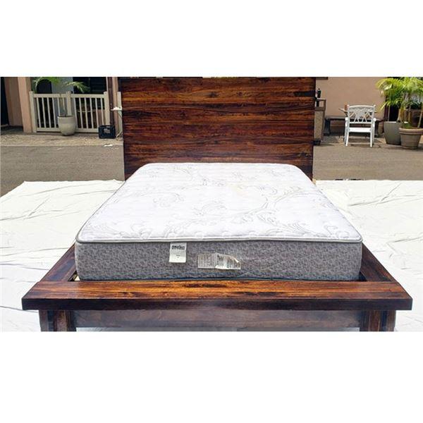 Queen Size Bed Frame & Mattress, Beautifully Restored