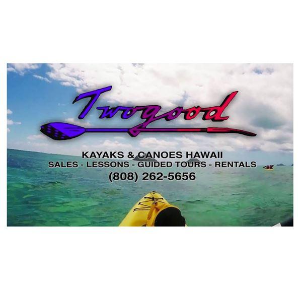 Guided Kayak Tour for 1 with Twogood Kayaks Hawaii