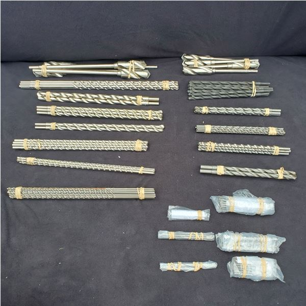 New Assorted B & A Manufacturing Company Heavy Duty Drill Bits