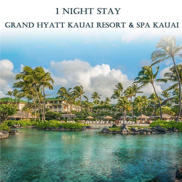 1-Night Stay at the Grand Hyatt Kauai Resort & Spa (See details)