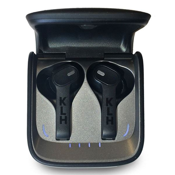 KLH Audio Fusion Qualcomm V5.0 True Wireless Earbuds New