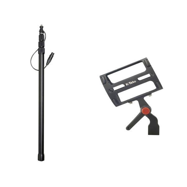 Boompole & K-Mount Microphone Shock Mount, New