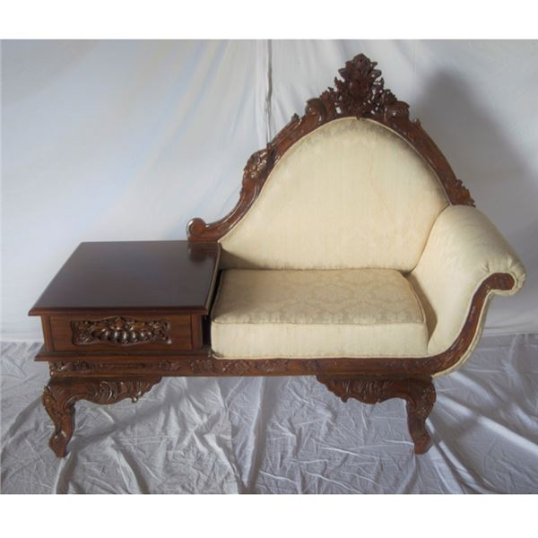Victorian Storage Bench (gently used)