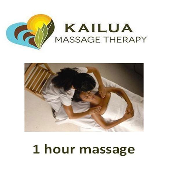 1 hr massage at Kailua Massage Center & Lomi Foot Massager 2 in 1