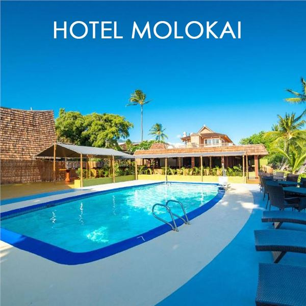 1 Night Stay at Hotel Molokai with roundtrip airfare from Mokulele Air