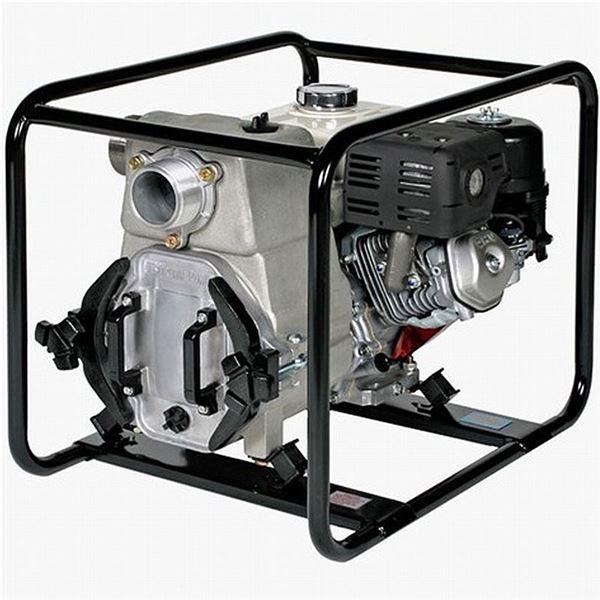 """Tsurumi Gas engine driven Trash Pump #021461 & Tsurumi 2"""" starter kit"""