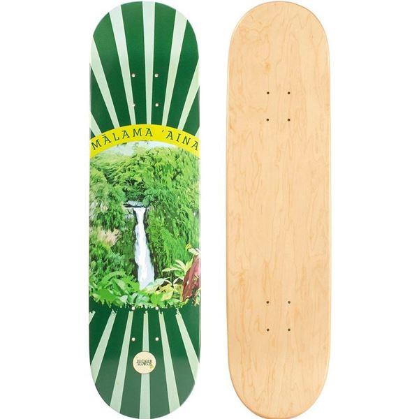 """""""Malama Aina"""" Skateboard Deck from Jucker Hawaii New"""