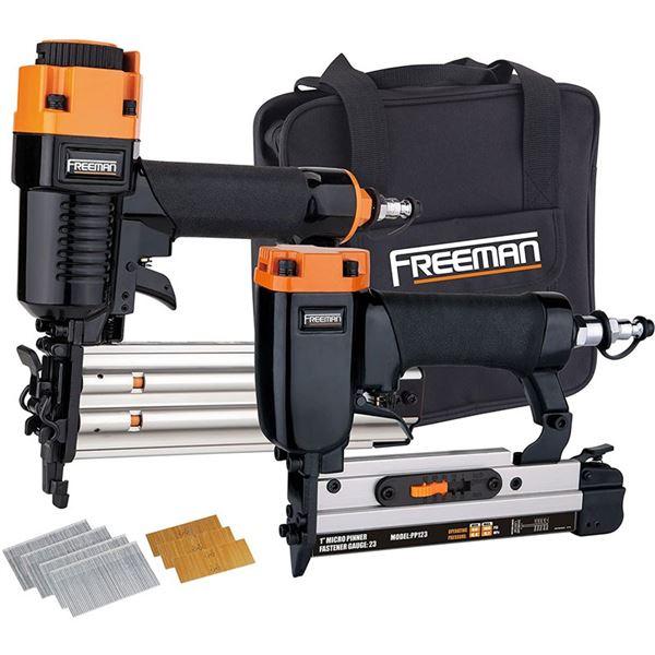 Freeman PPPBRCK Pneumatic Brad Nailer and Micro Pinner Finish Kit New