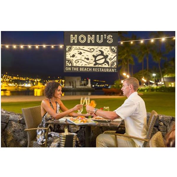 Prime Rib & Seafood Buffet for 2 at Honu's (Hawaii Island)