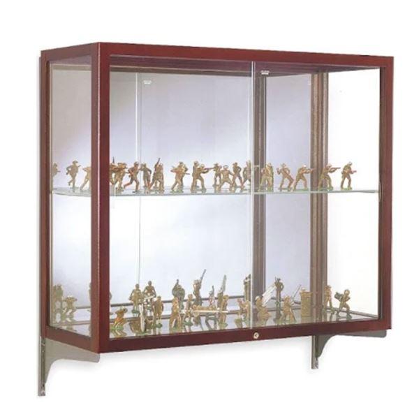 Waddell Glass display Case 38''H x 36''W x 14''D