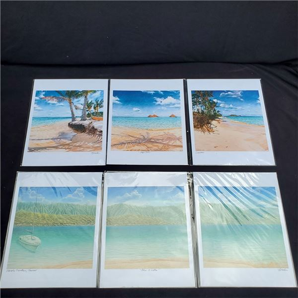 "2 Paintings by Bill Braden 14"" x 11''"