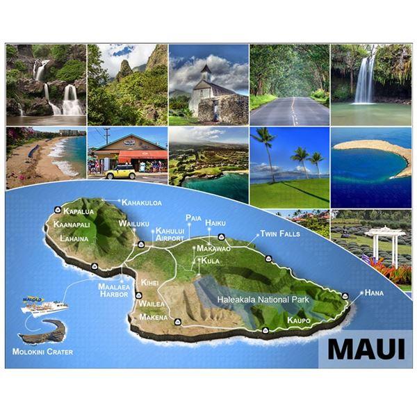 HAWAII Vacation on 2 islands: choose between Maui, Oahu and the Big Island: enjoy a 3 Night stay on