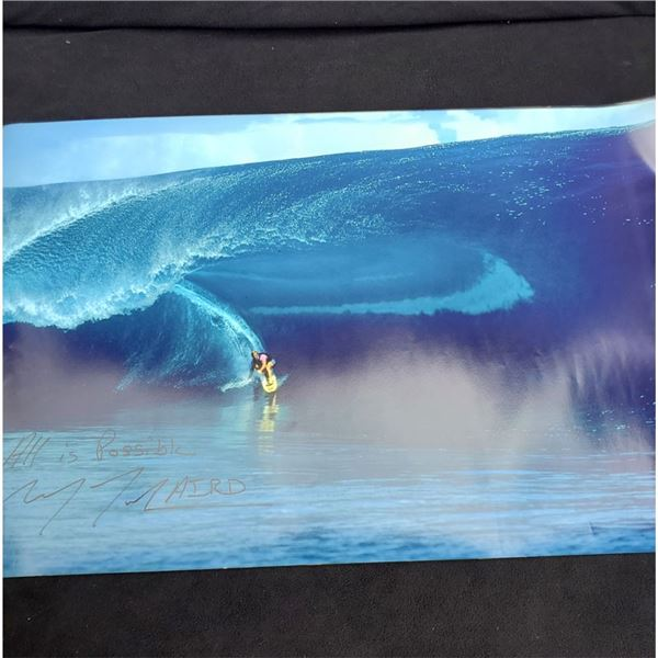 """Autographed Laird Hamilton Poster """"All is Possible"""" 30.5"""" x 20'' New"""
