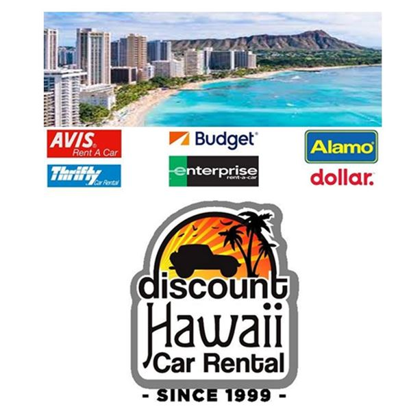 Discount Hawaii Car Rental: 3-Day Economy to Full Size Car on Oahu
