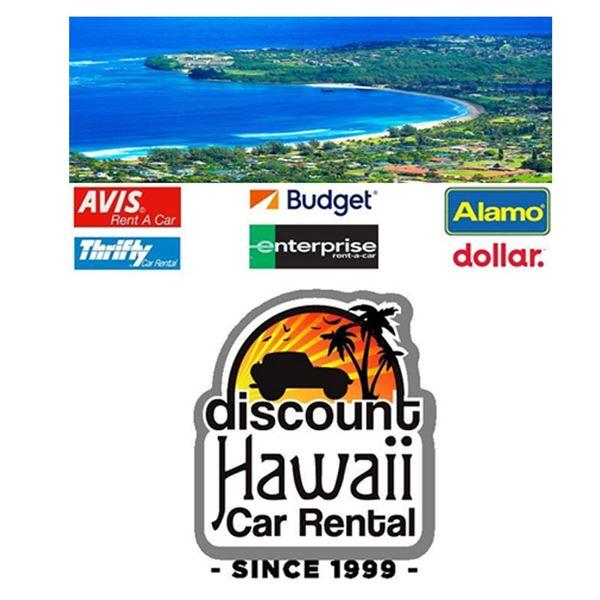 Discount Hawaii Car Rental: 3-Day Economy to Full Size Car on Kauai