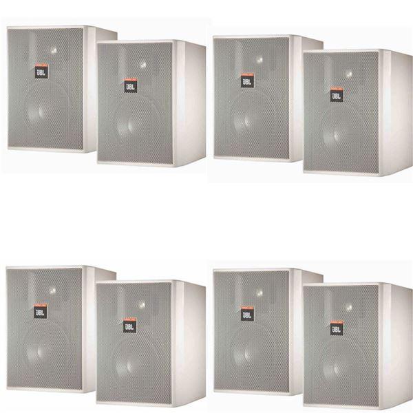 (8) JBL Professional Control 25AV-SP Indoor/Outdoor Monitor Speakers New