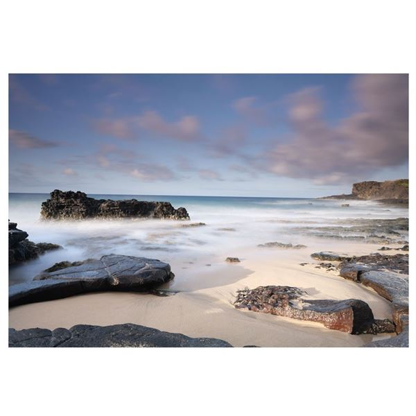 "30"" x 45"" beach landscape photograph ""Serenity"""