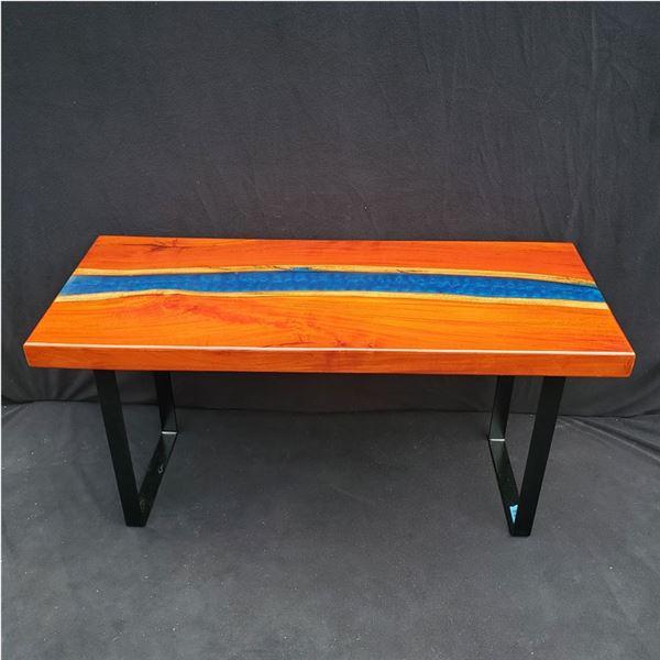 Seth Isaac Creations Custom made Table 39 x 16 1/2''
