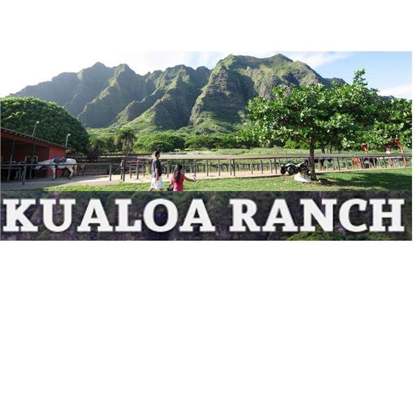 Any 1 experience for 2 at Kualoa Ranch (expires 6/6/22)