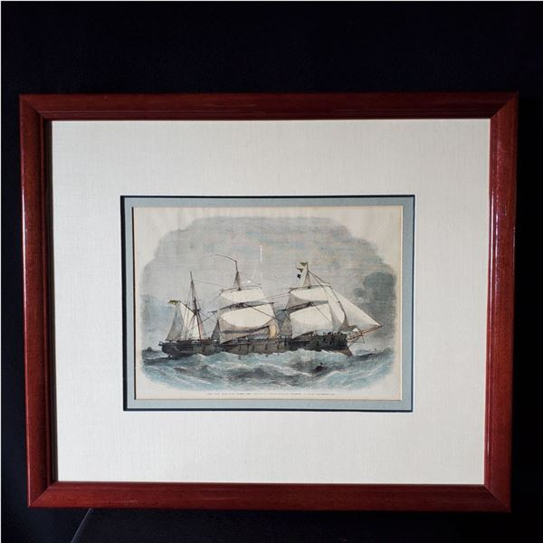 Thousands of dollars of beautifully framed 1800's Maritime Art!