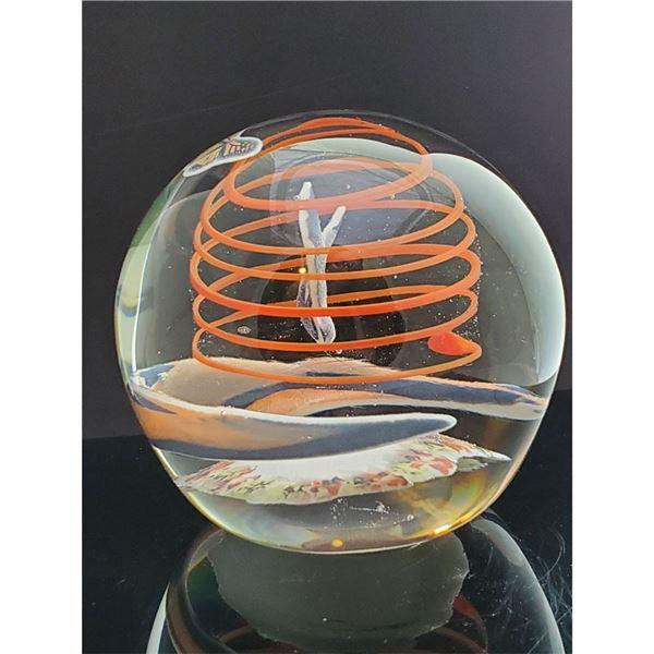 Art Glass Paper Weight