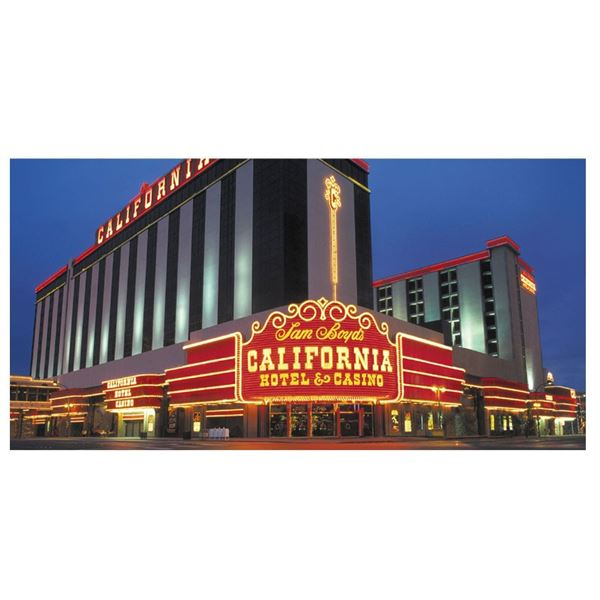 The California Hotel in Downtown Las Vegas Package for two!