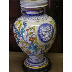 ITALIAN MAJOLICA  DERUTA LAMPS #1762511