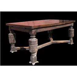 Jacobean Draw-Top Dining Table #1762530