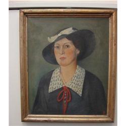 Framed Oil Painting #1762533