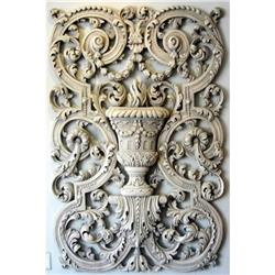 Arabesque Trophy Wall Relief #1762535