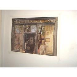 Au Pont Louis-Philippe Print 542/1000/ Sterling#1762542