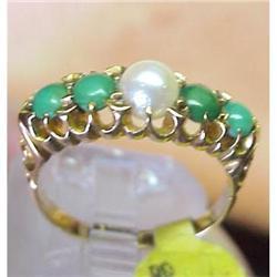 Exquisite  18 ct. Gold Antique Ring #1762552