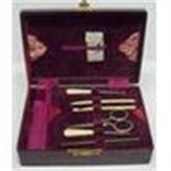 Victorian SEWING  Implements - BOX  #1762556