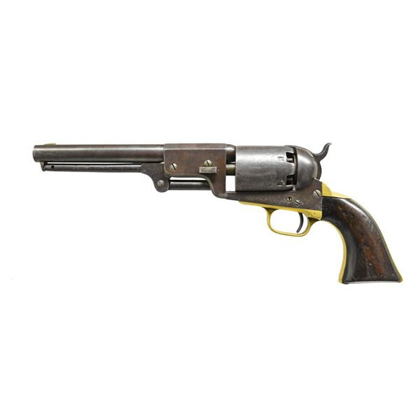 """SCARCE 8"""" INSCRIBED IOWA OFFICER COLT 3RD MODEL"""