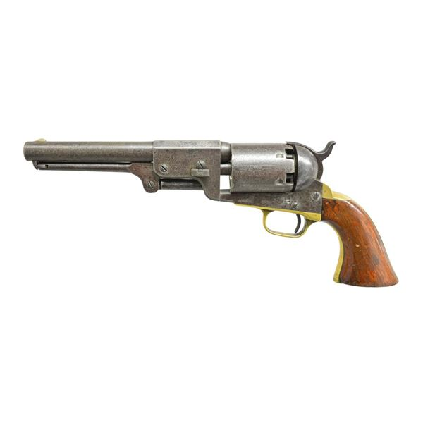 """""""T. W. ROWELL"""" INSCRIBED 3RD MODEL COLT DRAGOON."""