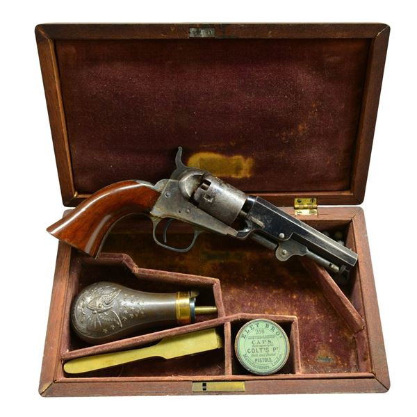 VERY FINE CIVIL WAR CASED COLT MODEL 1849
