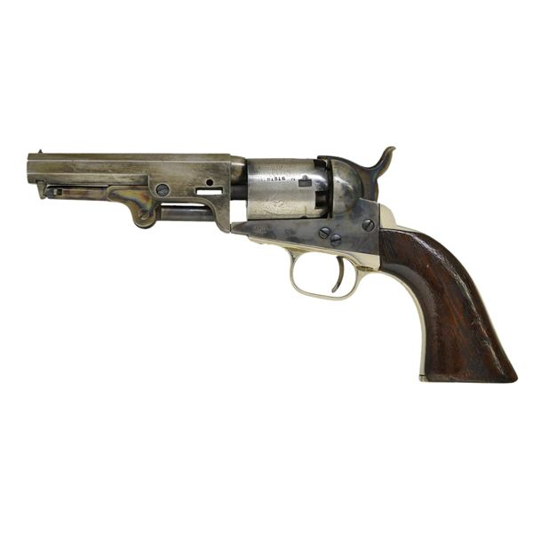 COLT MODEL 1849 REVOLVER INSCRIBED TO COL. ROBERT