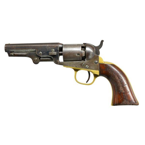 BALTIMORE POLICE MARKED COLT 1849 POCKET MODEL