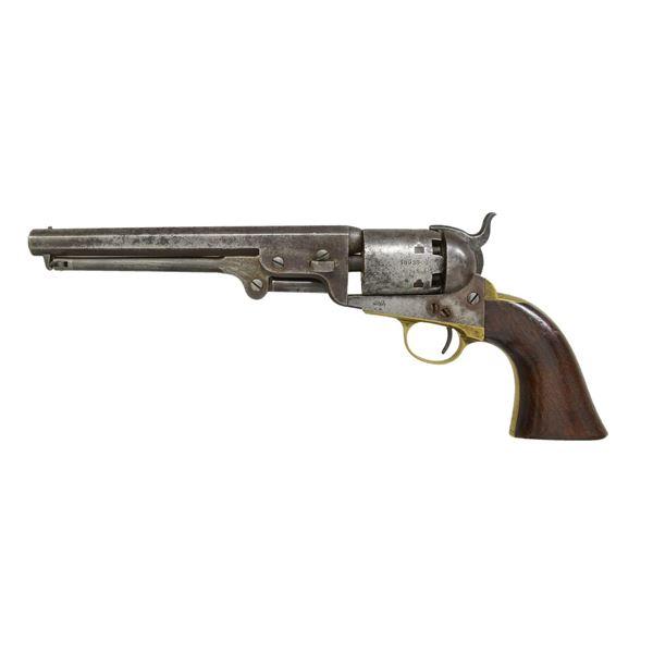 COLT 1851 NAVY US MARKED REVOLVER.