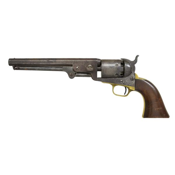 COLT 1851 NAVY US MARKED REVOLVER.