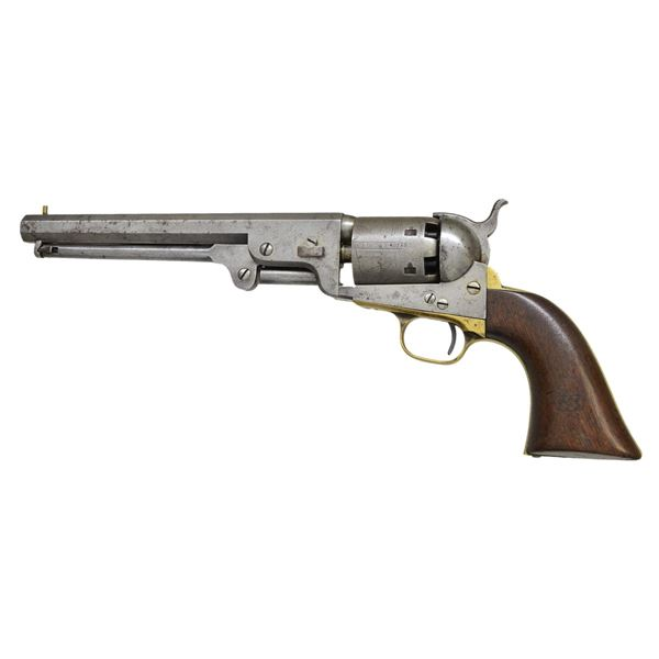 COLT US 1851 NAVY THIRD MODEL REVOLVER.