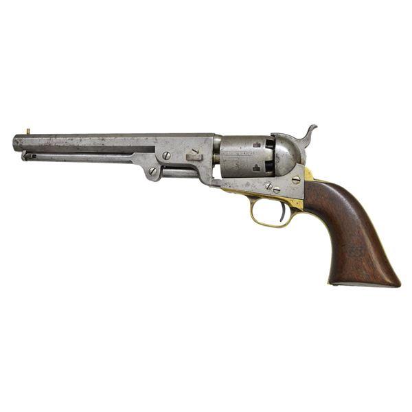 COLT US 1851 NAVY THIRD MODEL REVOLVER.