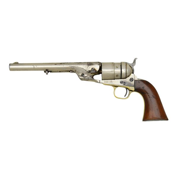 VERY FINE NICKEL PLATED COLT TRANSITIONAL OR