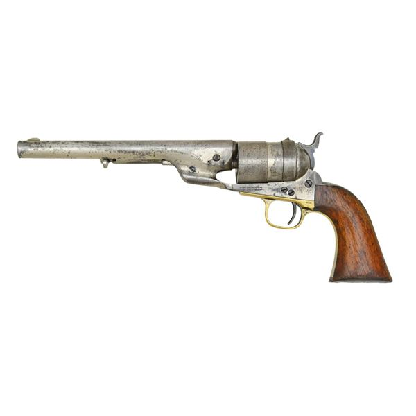 NICKEL PLATED COLT FIRST MODEL RICHARDS