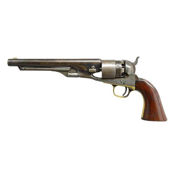 COLT CIVILIAN 1860 ARMY CUT FOR SHOULDER STOCK.